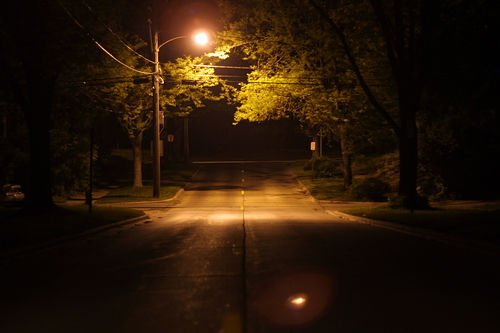 üres utca